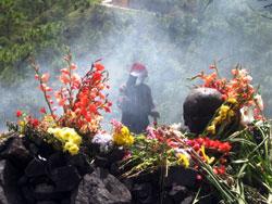 Copal offerings, Guatemala