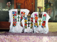 Maya spirituality infuses traditional Christian icons in a Guatemalan church