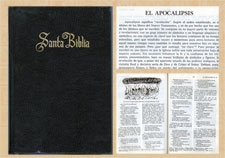 The Bible and the Book of Revelation in Spanish