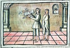 Professional Aztec singers, Florentine Codex Book X