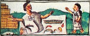 Picture 12: Chilli seller, Florentine Codex Book X