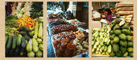 Pic 12: Mexican markets abound with delicious fruits and vegetables: how many do you recognise?