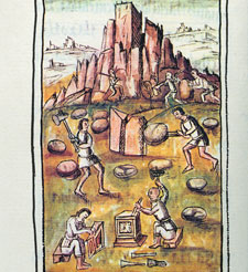 Pic 3: The Aztecs were highly skilled stone cutters, Florentine Codex Book X