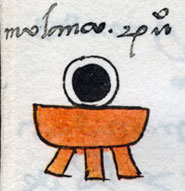 Pic 9: Toponym 'Molanco', Codex Mendoza folio 54r