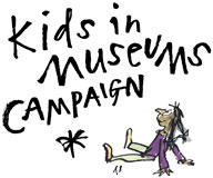 One of Quentin Blake's illustrations for the Kids in Museums website