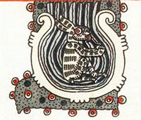 'Conejo' en la Luna, Códice Borgia, pag. 55