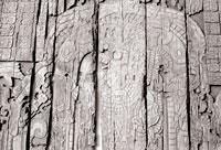 Pic 10: Carved sapodilla lintel © Copyright Macduff Everton