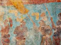 Pic 16: Bonampak mural
