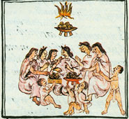 Feasting - Florentine Codex Book 2