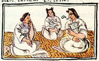 Aztec noblewomen, Florentine Codex Book 10