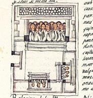 An Aztec 'calpulli' (neighbourhood/community), Florentine Book 2