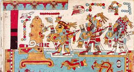 Pic 1: Conquest scene from the Codex Zouche-Nuttall, folio 75