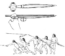 Pic 2: The ancient art of atlatl throwing