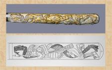 Pic 7: Detail of the British Museum atlatl