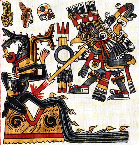 The Aztecs and the atlatl
