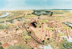 Pic 3: Cahokia circa AD 1150-1200