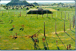 Pic 6: Artist's impression of Cahokia by Lloyd K. Townsend