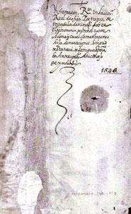 Pic 2: Folio 1 of 'Información de Doña Isabel de Moctezuma