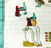 Pic 8: Moctezuma bearing royal turquoise diadem