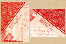 Scans from two different notes
