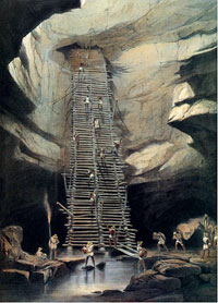 Pic 3: Cenote image drawn by Frederick Catherwood