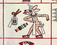 Pic 9: Deer/human figure, Codex Laud folio 22