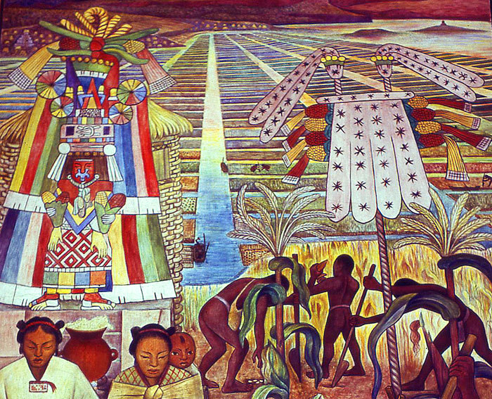 Mexicolore for Diego rivera tenochtitlan mural