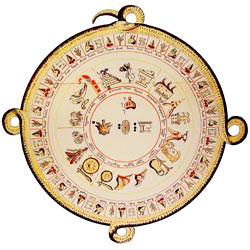 Pic 3: The Aztecs/Mexica had 2 main calendars, one based on the sun, one based on the moon