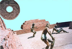 Pic 7: There were very clear and fixed rules for the ancient ballgame