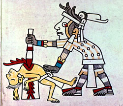 Pic 9: Human sacrifice was performed to please the gods, NOT out of pleasure or cruelty...