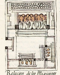 Pic 3: The Mexica 'calpolli', or parish community, Florentine Codex Book 2