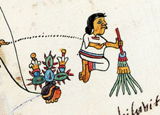 Pic 4: Cleaning sacred places, Codex Telleriano-Remensis