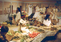 Pic 11: Model of the great market at Tlatelolco, National Museum of Anthropology, Mexico City