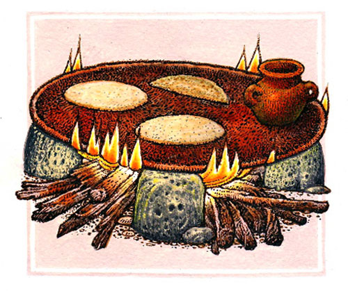 Women and the aztec world for Ancient mayan cuisine