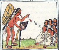Pic 14: Mexica merchants, Florentine Codex Book 4