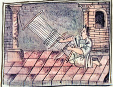Pic 18: The weaver, Florentine Codex Book 10