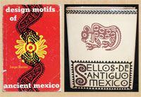 The classic work of Jorge Enciso who died in 1969 remains the best source on pre-Hispanic stamp designs: (L) Dover Publications edition (1953) based on the author's own original edition (1947)