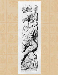 Pic 13: Number 35, bas-relief captive figure