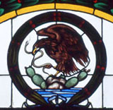 Stained glass window, Museum of Mexico City
