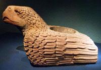 Eagle 'cuauhxicalli' sacrifice vessel, Templo Mayor Museum, Mexico City