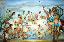 Pic 3: For the Mexica being clean was cool!
