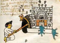Pic 5: Aztec/Mexica steam bath, called 'temazcal'