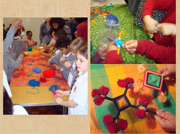 Mexican Craft Workshops In Schools