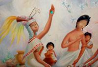 Plumes, flowers, jade... powerful images in Aztec poetry