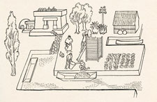 Pic 8: Illustration of every-day Mexica life by Alberto Beltrán