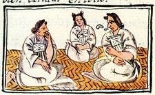 Pic 3: Aztec noblewomen, Florentine Codex Book 10