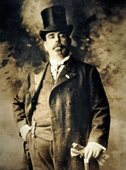 Pic 2: Early 20th century photo of Leopoldo Batres, Museo del Templo Mayor, Mexico City