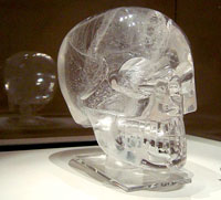 Pic 6: The British Museum crystal skull