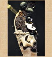 Pic 12: Detalle de uno de los cuchillos personificadores de la Ofrenda 125