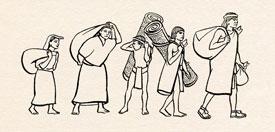An Aztec commoner family